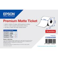 """Epson prémiové matné """"ticket"""", 80 mm * 50 metrové (objednávacie množstvo 18 kotúče/balík)"""