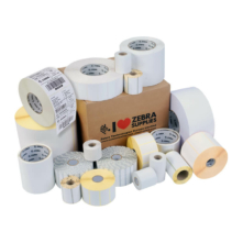 50,8*50,8 mm, plast, Zebra samolepiaca etiketa, Zebra PolyPro 4000D (200 etikiet/kotúč)