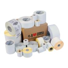 102*102 mm, plast, Zebra samolepiaca etiketa, Zebra PolyE 3100T Gloss (1432 etikiet/kotúč)