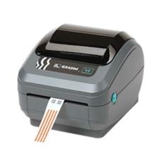 Zebra GX420t tlačiareň etikiet, 203 dpi + rezač, posuvný senzor média (GX42-102522-150)