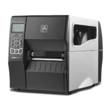 Zebra ZT230d tlačiareň etikie, 203 dpi + Ethernet, odlepovač etikiet, belsőfelcsévélő