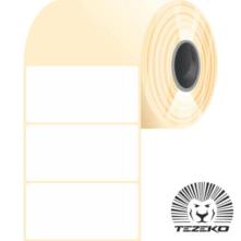 50 * 25 mm, samolepiace plastové etikety (2500 etikiet/kotúč) (M0500002500-002)
