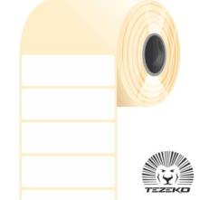 60 * 20 mm, samolepiace plastové etikety (2500 etikiet/kotúč) (M0600002000-002)