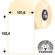 101,6 * 152,4 mm-es, öntapadós műanyag etikett címke (1000 címke/tekercs)
