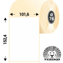 101.6 * 152.4 mm, samolepiace plastové etikety (1000 etikiet/kotúč) (M1016015240-003)