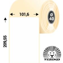 101.6 * 209.55 mm-es, samolepiace termo etikety (1000 etikiet/kotúč)