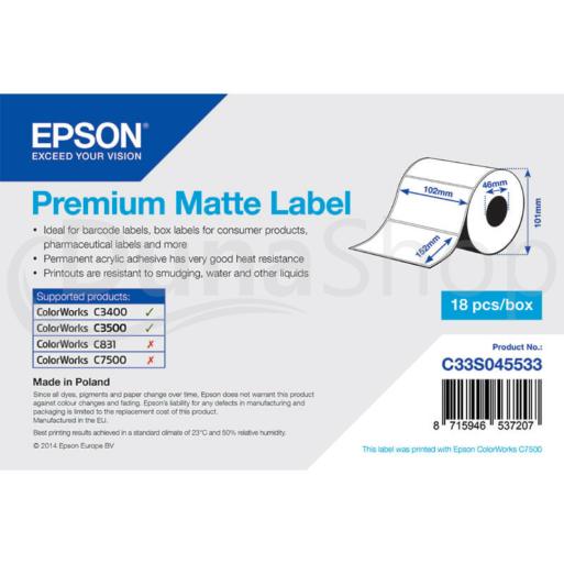 Epson samolepiace etikety C33S045533