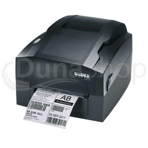 Godex G300 tlačiareň etikiet
