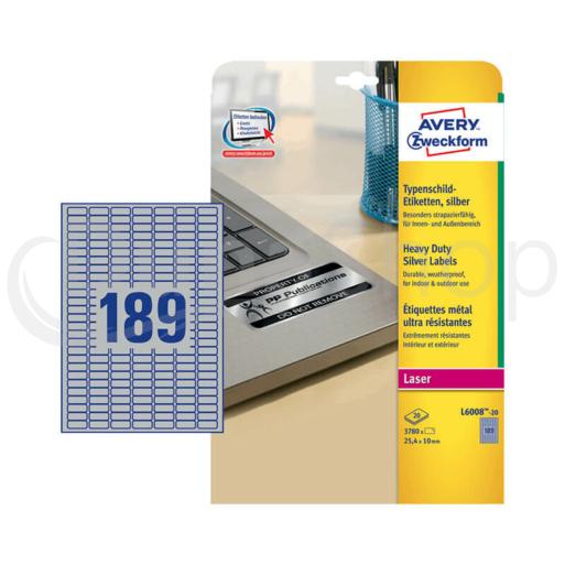 Avery Zweckform hárkové print etikety L6008-20