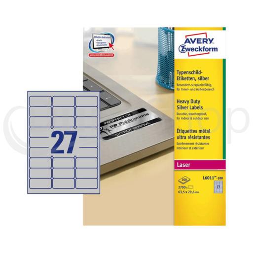 Avery Zweckform öntapadó íves etikett címke L6011-100