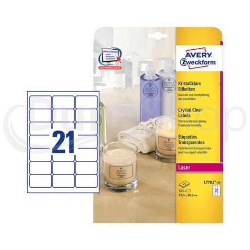 Avery Zweckform hárkové print etikety L7782-25