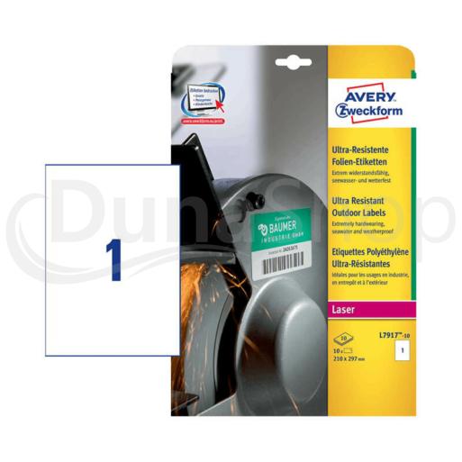Avery Zweckform öntapadó íves etikett címke L7917-10