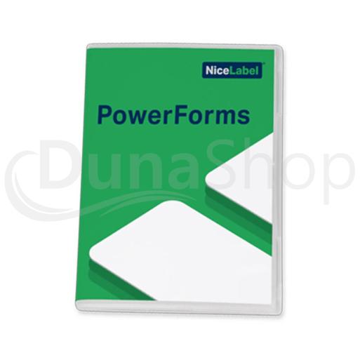NiceLabel Designer PowerForms