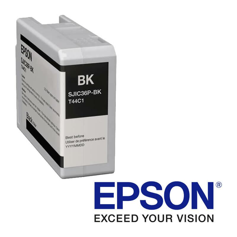 EpsonColorWorks C6000, C6500 atramentová náplň, Čierna