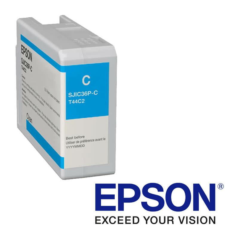 EpsonColorWorks C6000, C6500 atramentová náplň, Modrá