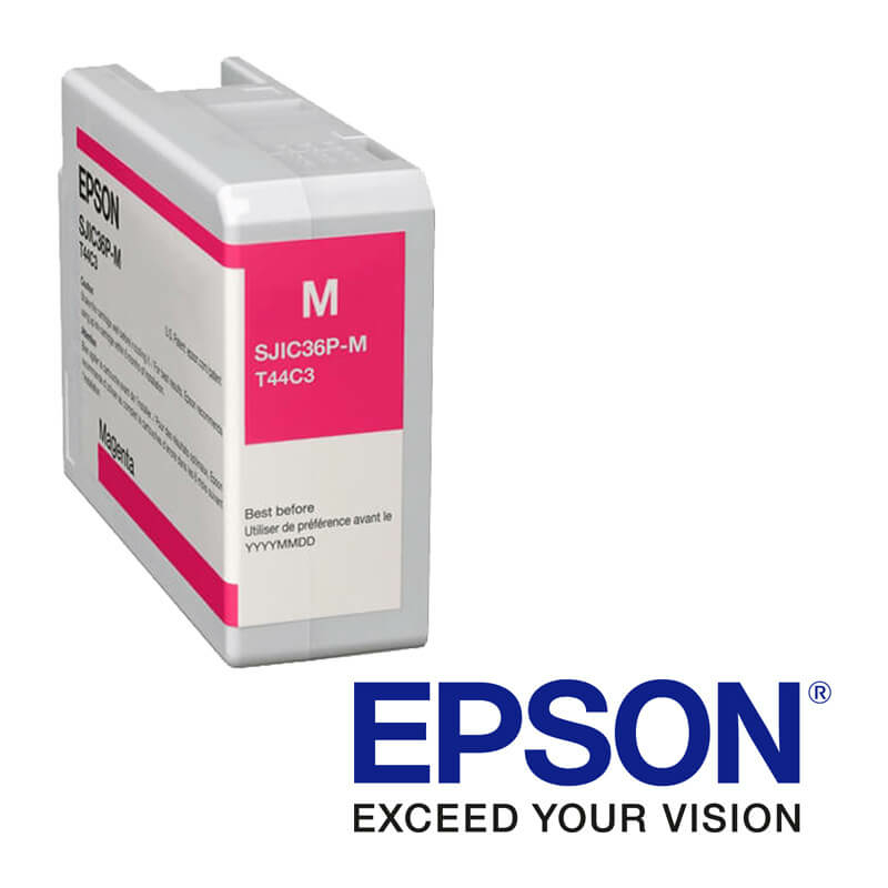 Epson ColorWorks C6000, C6500 atramentová náplň, Purpurová