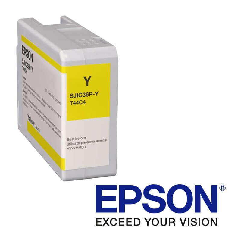 Epson ColorWorks C6000, C6500 atramentová náplň, Žltá