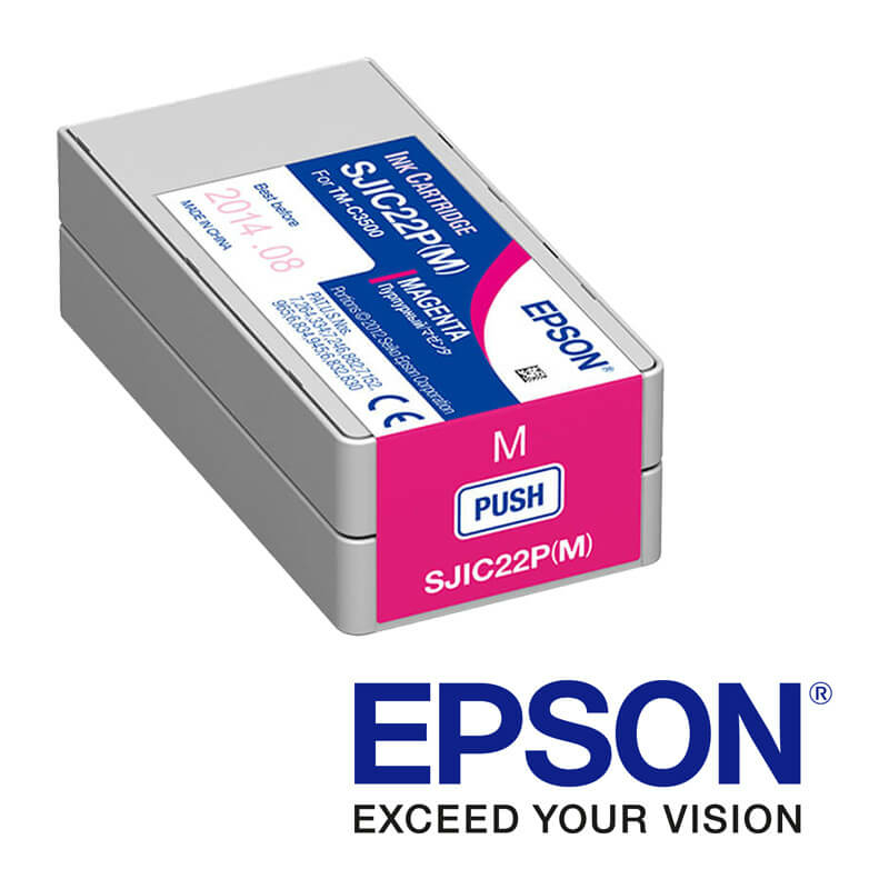 Epson ColorWorks C3500 atramentová náplň, Magenta