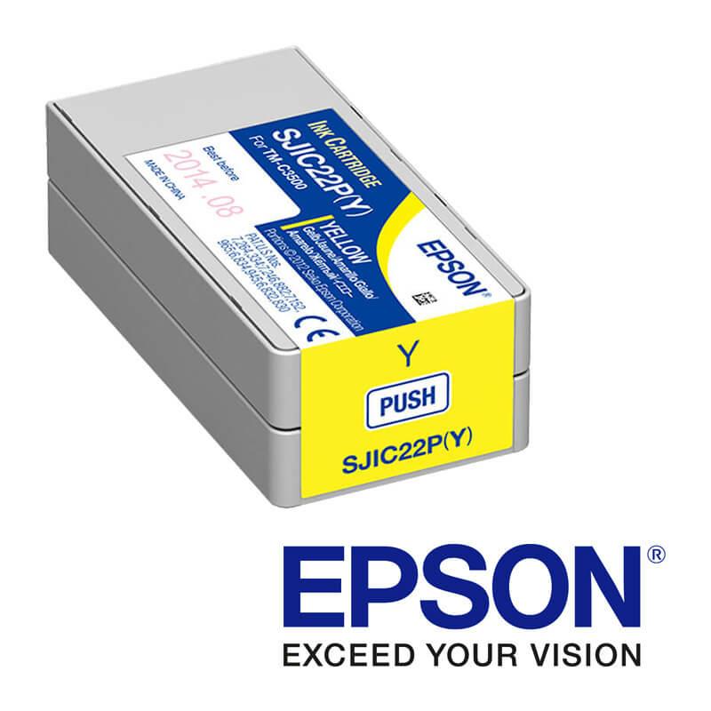 Epson ColorWorks C3500 atramentová náplň, Žltá