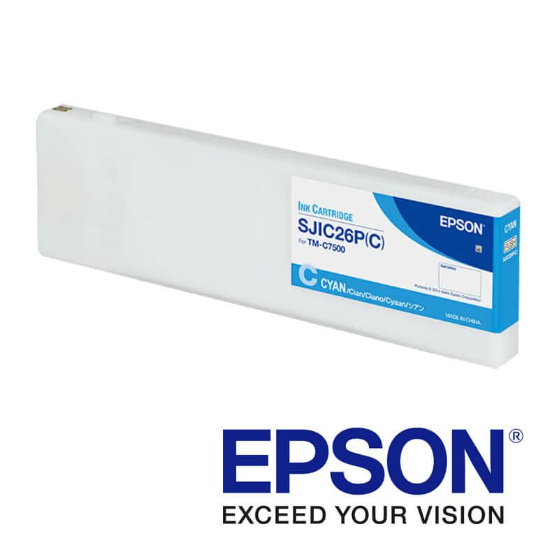 Epson ColorWorks C7500 atramentová náplň, Modrá
