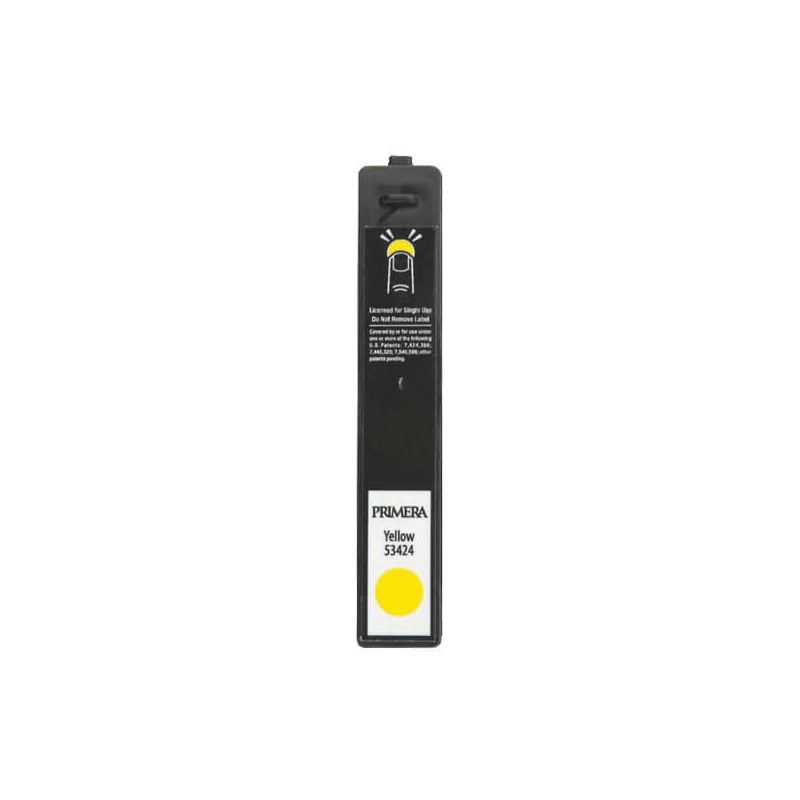 Primera 053424 atramentová náplň (Žltá), Dye Based, LX900e