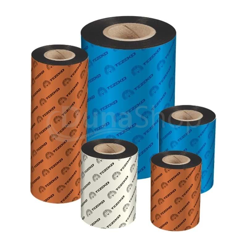 Tezeko TZ300 termotransferové pásky