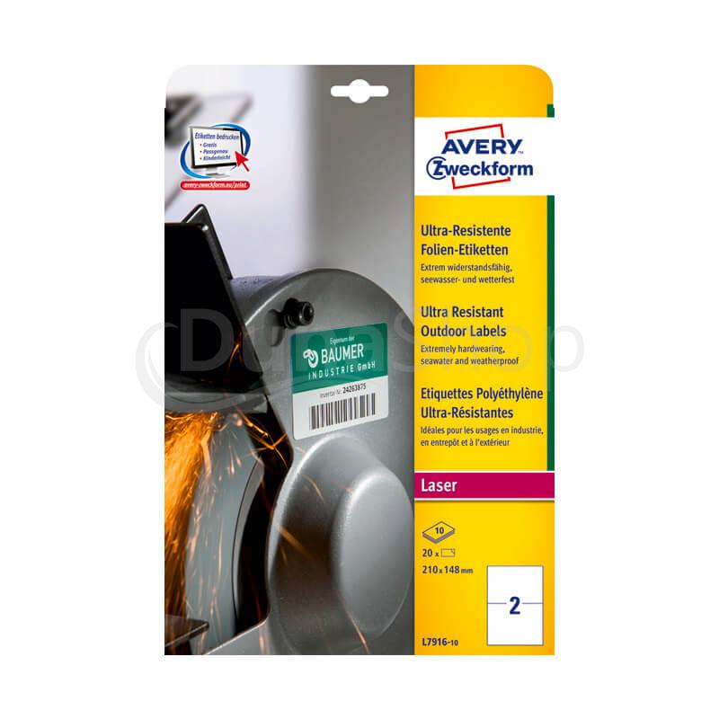 Avery Zweckform A4 íves öntapadó etikett címke
