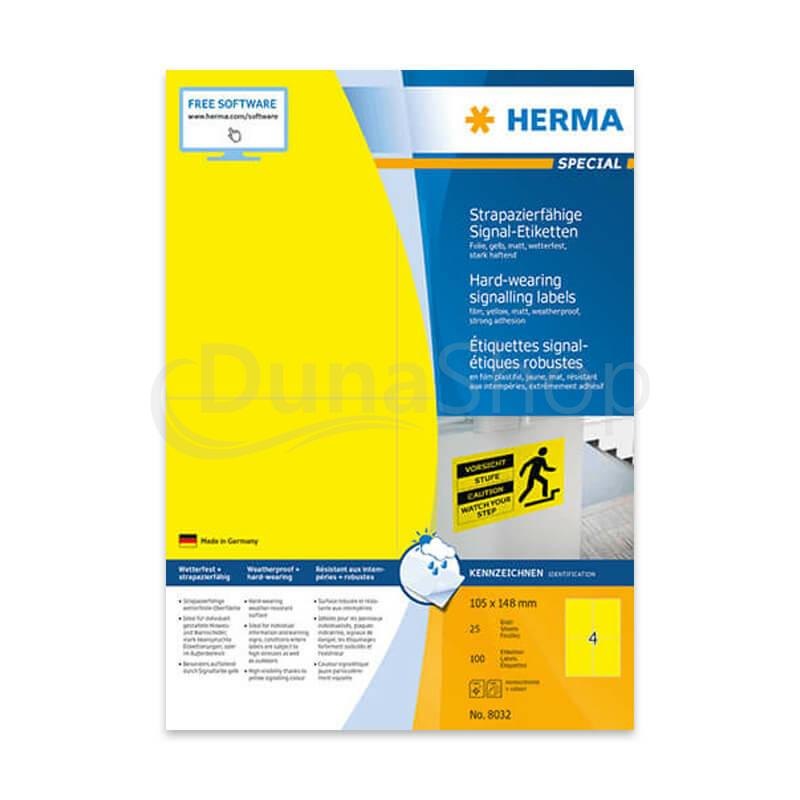 Herma A4 íves öntapadó etikett címke