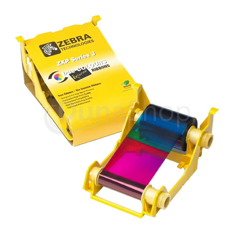 Zebra farbiaca páska pre tlačiarne kariet 800033-348