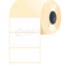 80 * 40 mm, samolepiace plastové etikety (2000 etikiet/kotúč) (M0800004000-002)