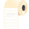 50 * 10 mm, samolepiace papierové etikety (10000 etikiet/kotúč)