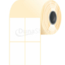 50 * 80 mm, samolepiace papierové etikety (1000 etikiet/kotúč)