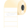 90 * 30 mm, samolepiace papierové etikety (2000 etikiet/kotúč)