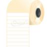 100 * 15 mm, samolepiace papierové etikety (2500 etikiet/kotúč)